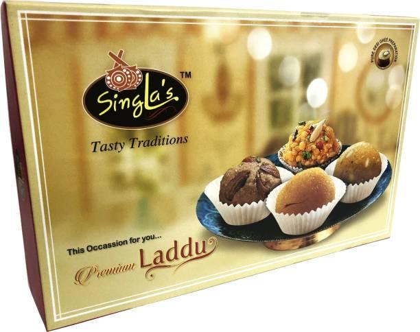 Singla Sweets Premium Besan Laddu Box 1kg Box