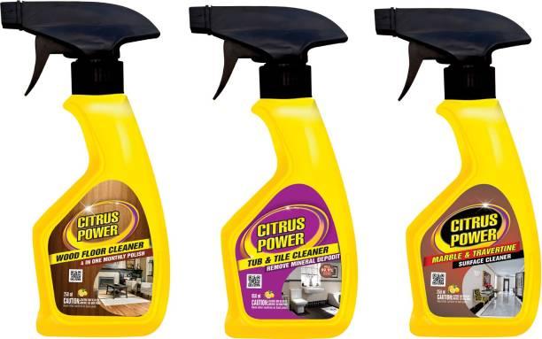 CITRUS POWER EXCLUSIVE ALL FLOOR CARE Citrus