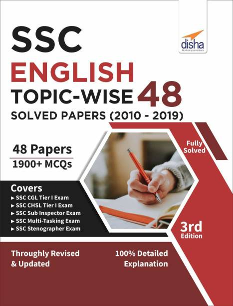 Ssc English Topic-Wise Latest 48 Solved Papers (2010-2019)