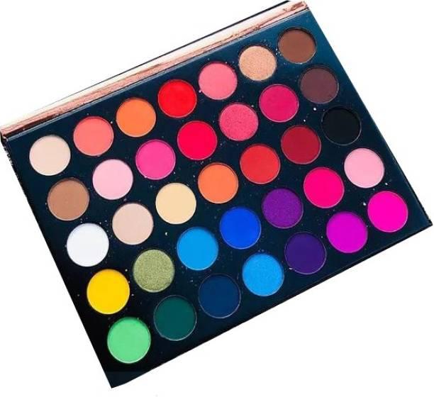 Beauty Glazed 35 Color Eyeshadow Palette-color set 28 g
