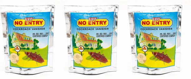 Exit No Entry Cockroach Vanisher Paste (100 g X 3 Pack)