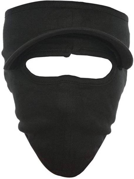 H-Store Black Bike Face Mask for Men