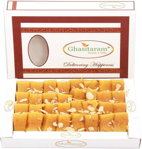 Ghasitaram Gifts sweets- Soft Mysore pak (400 gms) Box
