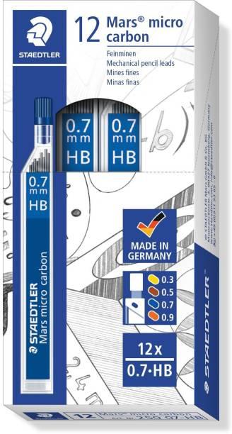 STAEDTLER Graphite 0.7mm HB Black leads for Pencil