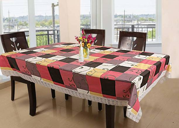 KARTIKEY Solid 10 Seater Table Cover