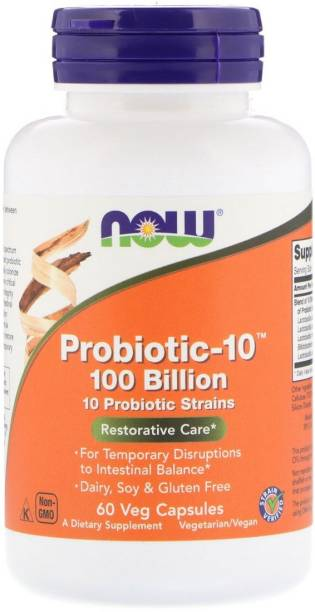 Now Foods Probiotic-10, 100 Billion, 60 Veg Capsules