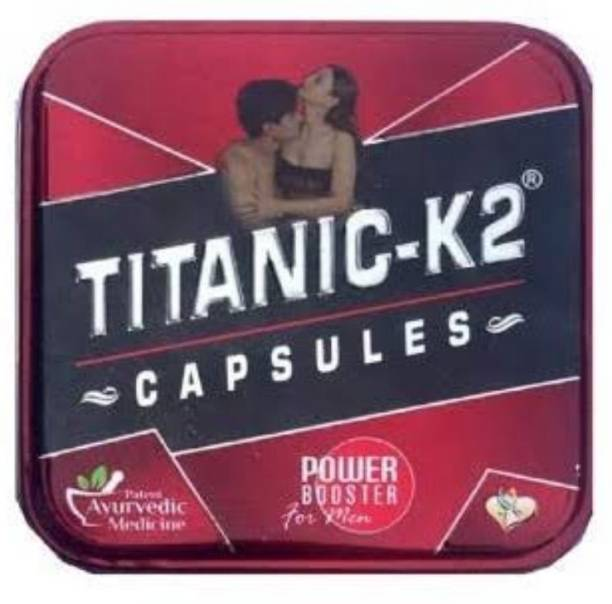 TITANIC-K2 Ayuevedic power booster capsule pack of 1 * 6