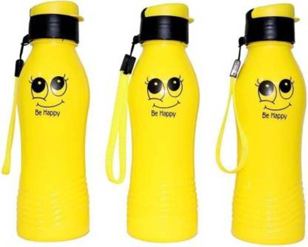 aaradhyacollection smiley bottle 500 ml Water Bottles