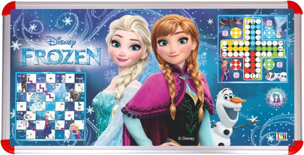 DISNEY frozen multipurpose kids table with Board Game Accessories Board Game