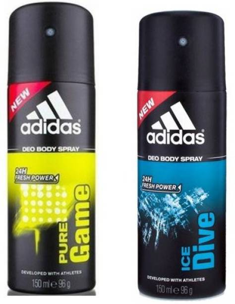 ADIDAS Pure Game Ice Dive Deodorant Spray - For Men Deodorant Spray  -  For Men & Women