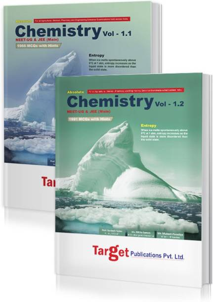 NEET UG / JEE Mains Absolute Chemistry Books Vol 1.1 And 1.2 Combo For 2021 Medical And Engineering Entrance Exam | Chapterwise MCQs With Solutions | Topicwise Tests For Practice | Best Study Material For NEET, AIPMT, AIIMS And JEE Preparation | 2 Books