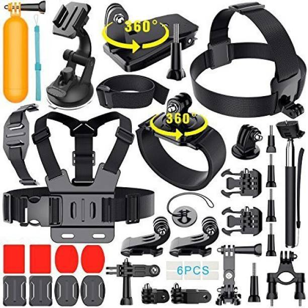 Adofys 41 In 1 Action Camera Accessory Kit For Action Camera Strap