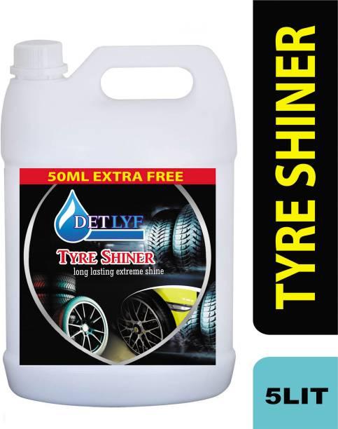 DETLYF TYRE SHINER, TYRE DRESSER 5 L Wheel Tire Cleaner