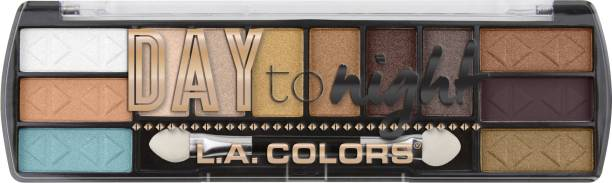 L.A. COLORS Day to Night 12 Color Eyeshadow - Sunset 8 g