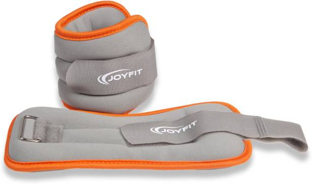 Joyfit Adjustable Ankle and Wrist Weight, .5 KG, Pair Grey Ankle & Wrist Weight