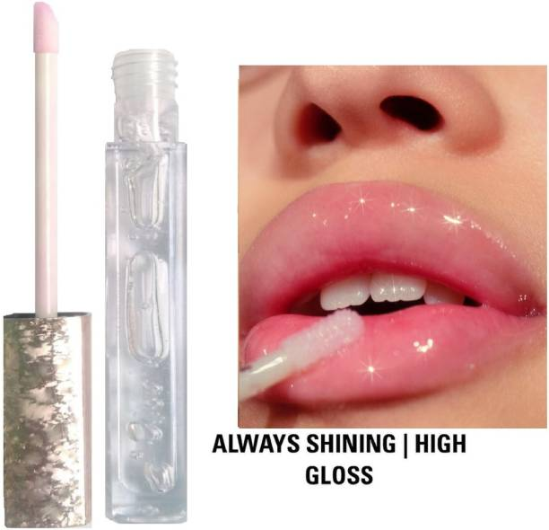 GLOWY Lip Gloss Effet 3D Transparent Moisturizing Long Lasting