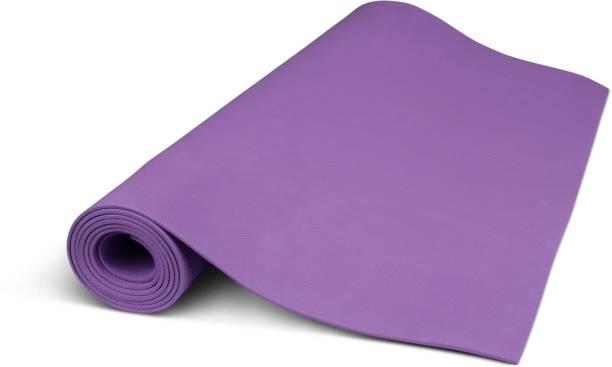 Adrenex by Flipkart Anti Skid Yoga Mat Purple 4 mm Yoga Mat