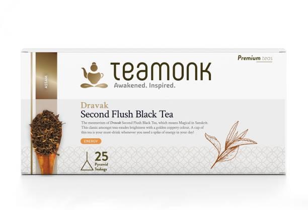 Teamonk Dravak Assam Black Tea Bags Box