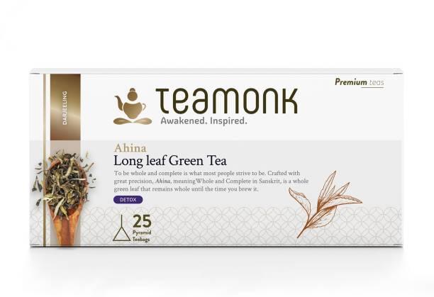 Teamonk Ahina Darjeeling Green Tea Box