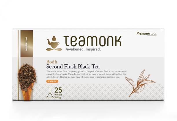Teamonk Bodh Darjeeling Black Tea Bags Box