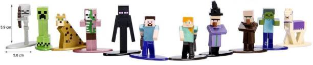 Jada Toys Minecraft Nanofigs Blind Pack Toy for Kids - Multicolor