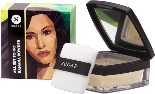 SUGAR Cosmetics All Set To Go Banana Powder Compact