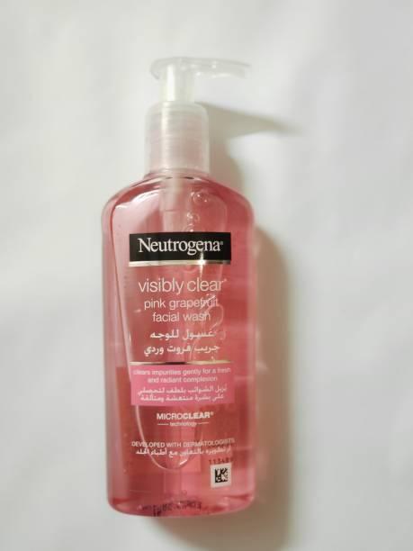 NEUTROGENA Pink Grapefruit Facial Wash Face Wash