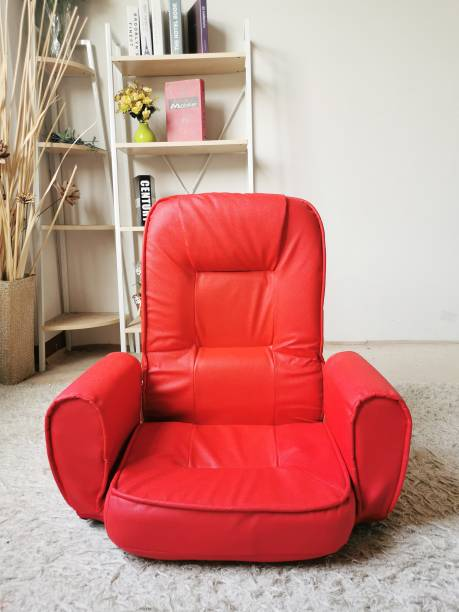 Furn Central Easy-0603-4 Red Floor Chair