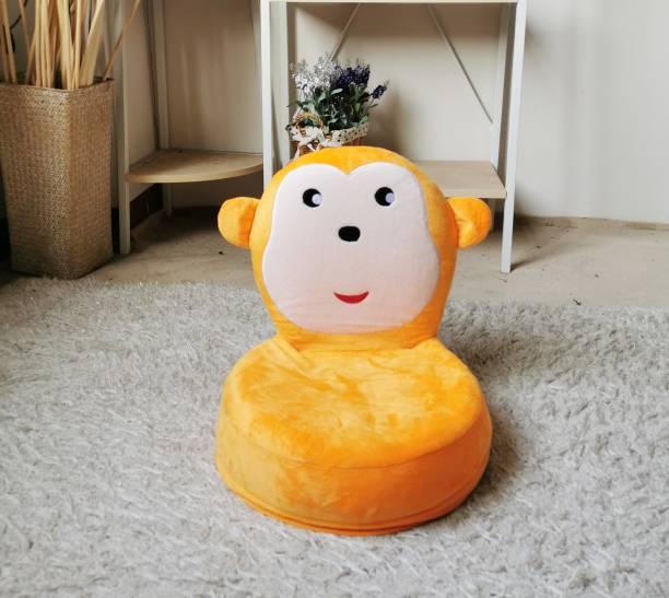 Furn Central Easy-0120-monkey Orange Floor Chair