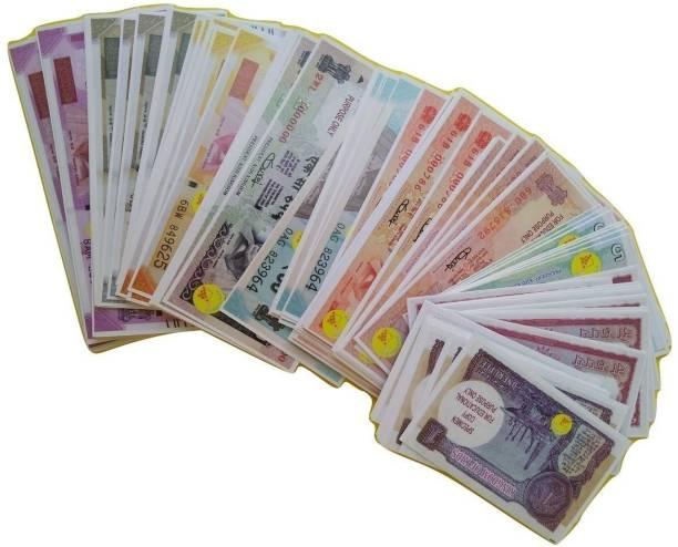 VK MART Fake Money note for kids - Money for kids to play Money Gag Toy Money Gag Toy 1-2-5-10-50-100-200-500-2000(900ps) Money Gag Toy