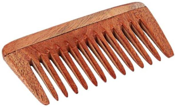 CartKing Neem Wooden/Wood Comb For Women & Men Hair Growth - Helps In Prevention Of Hair Fall & Anti Dandruff Trait - Naturally Prepared in Villages of Bengal-Pocket Friendly Comb