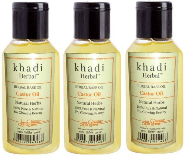 Herbal Khadi Khadi Herbal Castor Oil Hair Oil (300 ml) sold by LOZANO Hair Oil