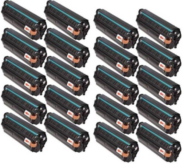 globe 12A / Q2612A Toner cartridge 20pic combo pack For Use: HP LaserJet 1010/ 1010w/ 1012/ 1015/ 1018/ 1020/ 1022/ 1022n/ 1022nw/ M1005 MFP/ M1319f MFP/ 3015 AIO/ 3020/ 3030/ 3050/ 3050z/ 3052/ 3055 Single Color Ink Cartridge (Black) Black Ink Toner
