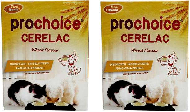 PROCHOICE Digestive System Healthy (Wheat Flavour, Pack of 2) 0.4 kg (2x0.2 kg) Dry New Born Dog Food