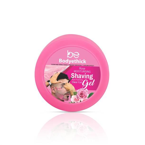 bodyethick Rose Shaving Gel