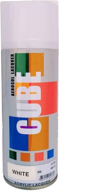 CUBE White Spray Paint 600 ml