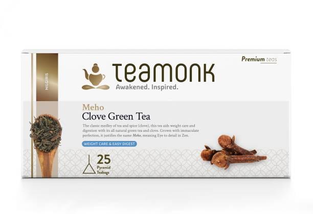 Teamonk Meho Cloves Green Tea Box
