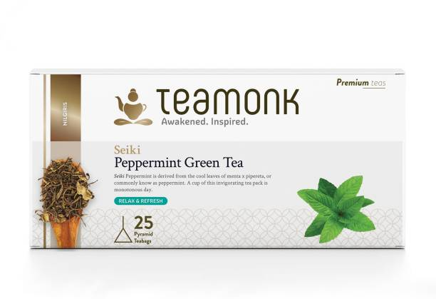 Teamonk Seiki Peppermint Green Tea Box