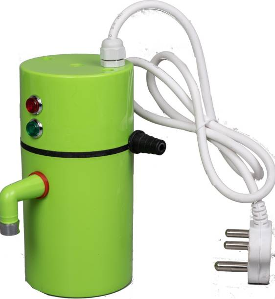 Remson 1 L Instant Water Geyser (portable geyser 2019, Green)