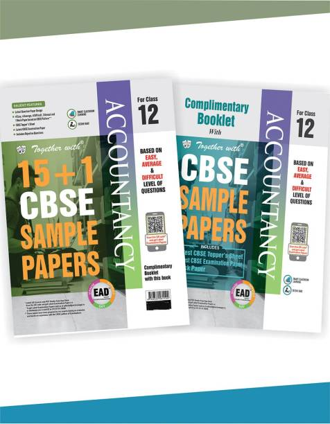 CBSE Accountancy Sample Papers Class 12th (2020 Board Examination)