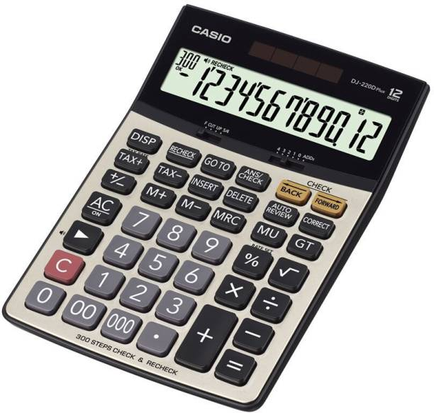 CASIO DJ-220DPLUS Desktop Basic  Calculator