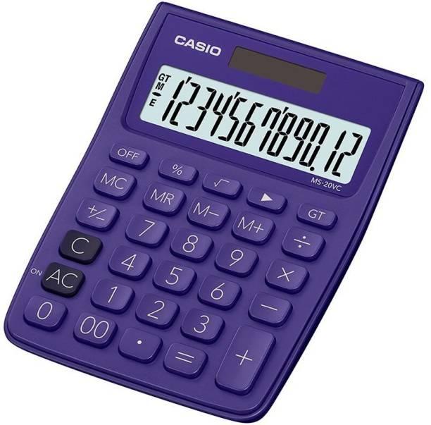 CASIO MS-20VC-PL Desktop Basic  Calculator