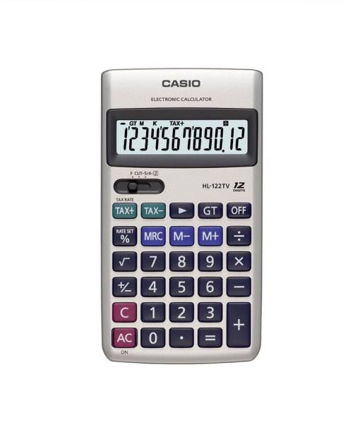 CASIO HL-122TV Portable Basic  Calculator