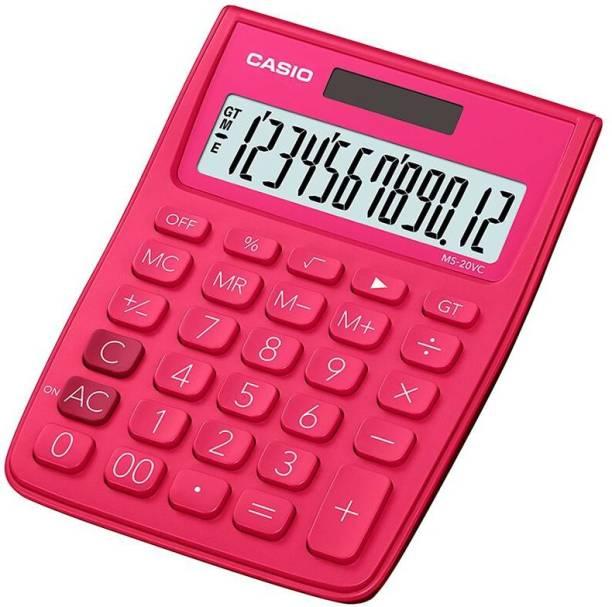 CASIO MS-20VC-RD Desktop Basic  Calculator