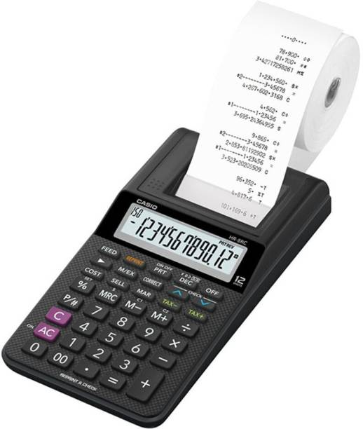 CASIO HR-8RC-BK Printing  Calculator