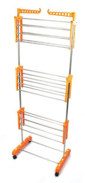 TNC Steel Floor Cloth Dryer Stand 9006