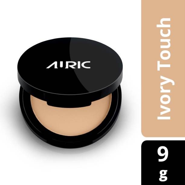 Auric Compact Powder BlendEasy, Ivory Touch (9 gm) Compact
