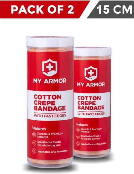 MY ARMOR Premium Cotton Crepe Bandage - Crepe Bandage