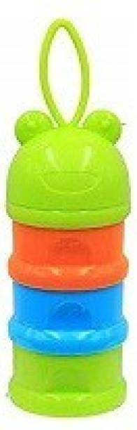 Safe-O-Kid BPA-Free Portable 3 Layer Container  - Plastic