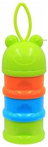 Safe-O-Kid Travel Friendly, BPA-free Portable 3 Layer Container  - Plastic